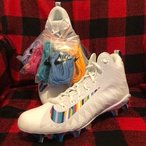 "Nike Alpha Menace Pro ""Crucial Catch NFL"" Cleats"